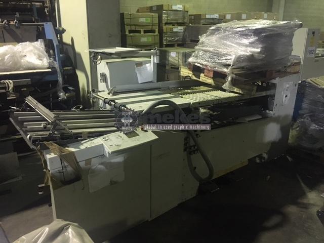 15295 Heidelberg Stahlfolder TH66-48 used all buckle folding machine (1)