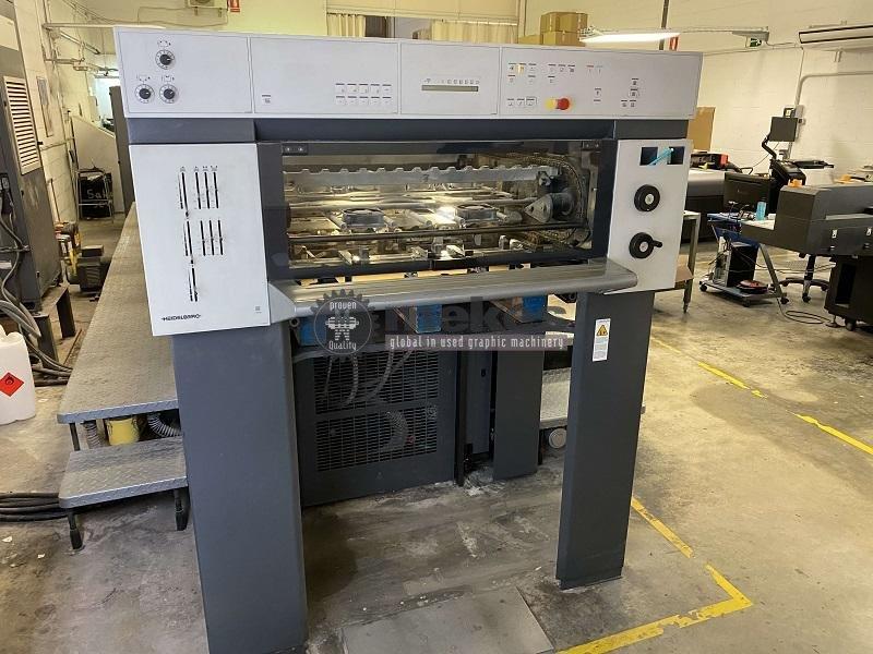 16519 used printing press Heidelberg SM 74-5-P-H (1)