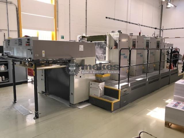 16513 Roland 704 3B P used offset printing press (6)
