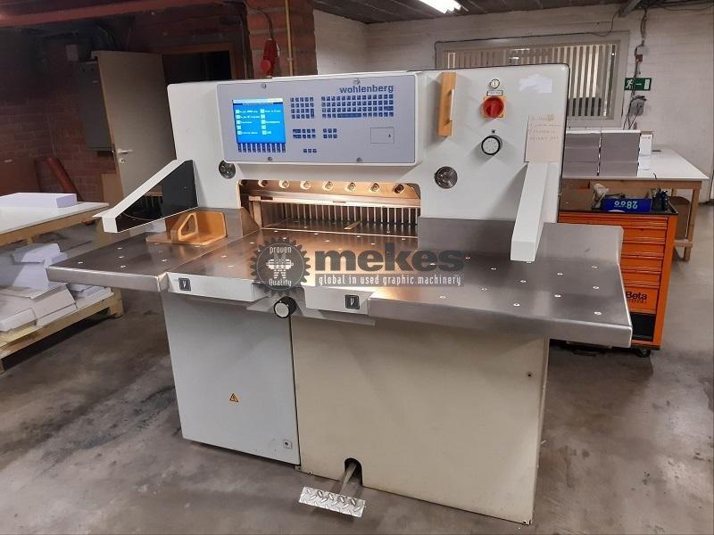 16618 used cutting machine Wohlenberg 76 (1)