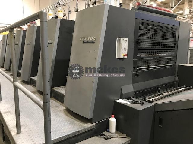 MEK16341-01 used offset printing press Heidelberg XL 105-5-L