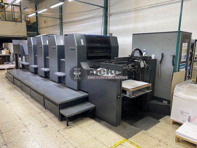 16593 used printing press Heidelberg SM 74-4 (1)