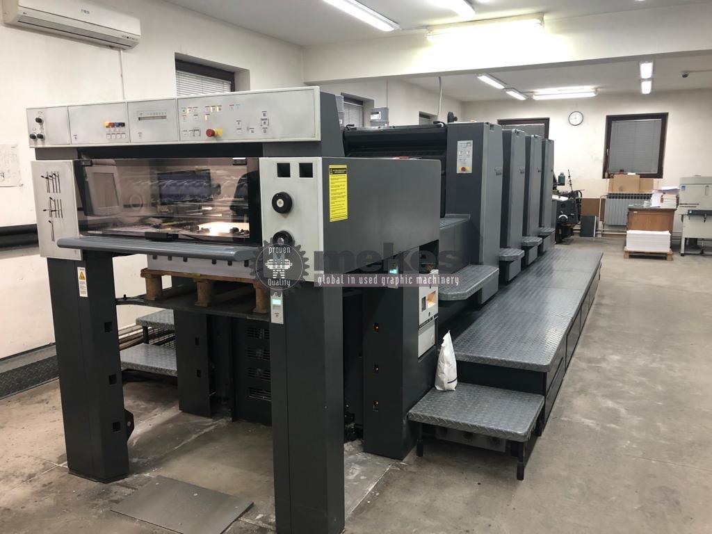 16738 used printing press Heidelberg SMP 74-4-P-H (1)