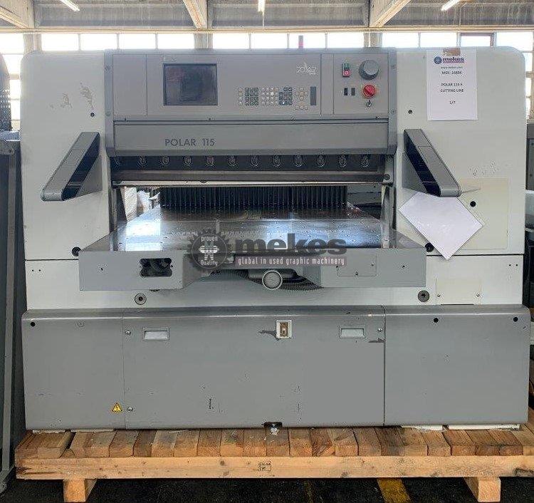 16804 Polar 115 E cutting machine (1)