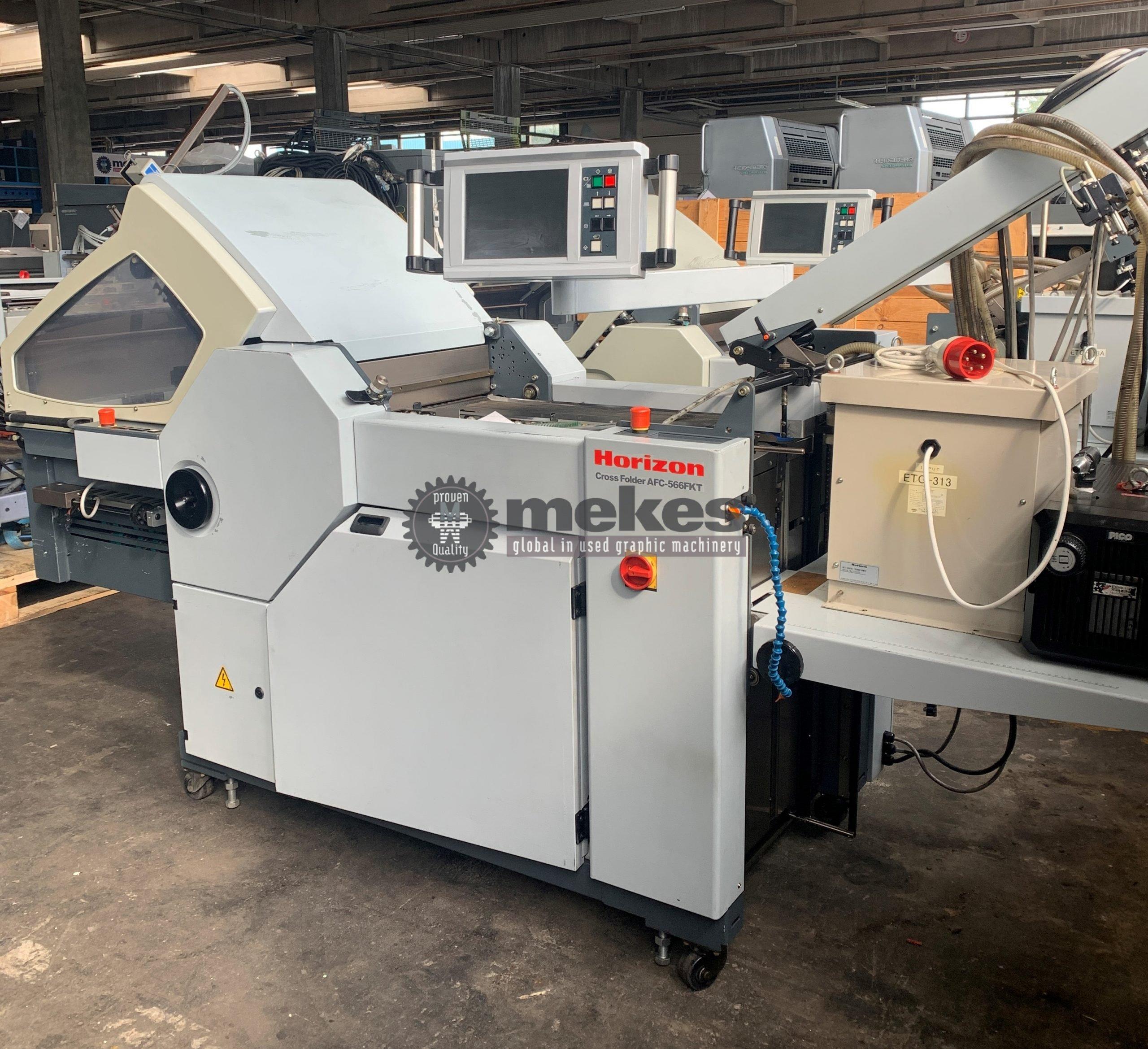 16806 Horizon AFC 566 FKT folding machine (1)