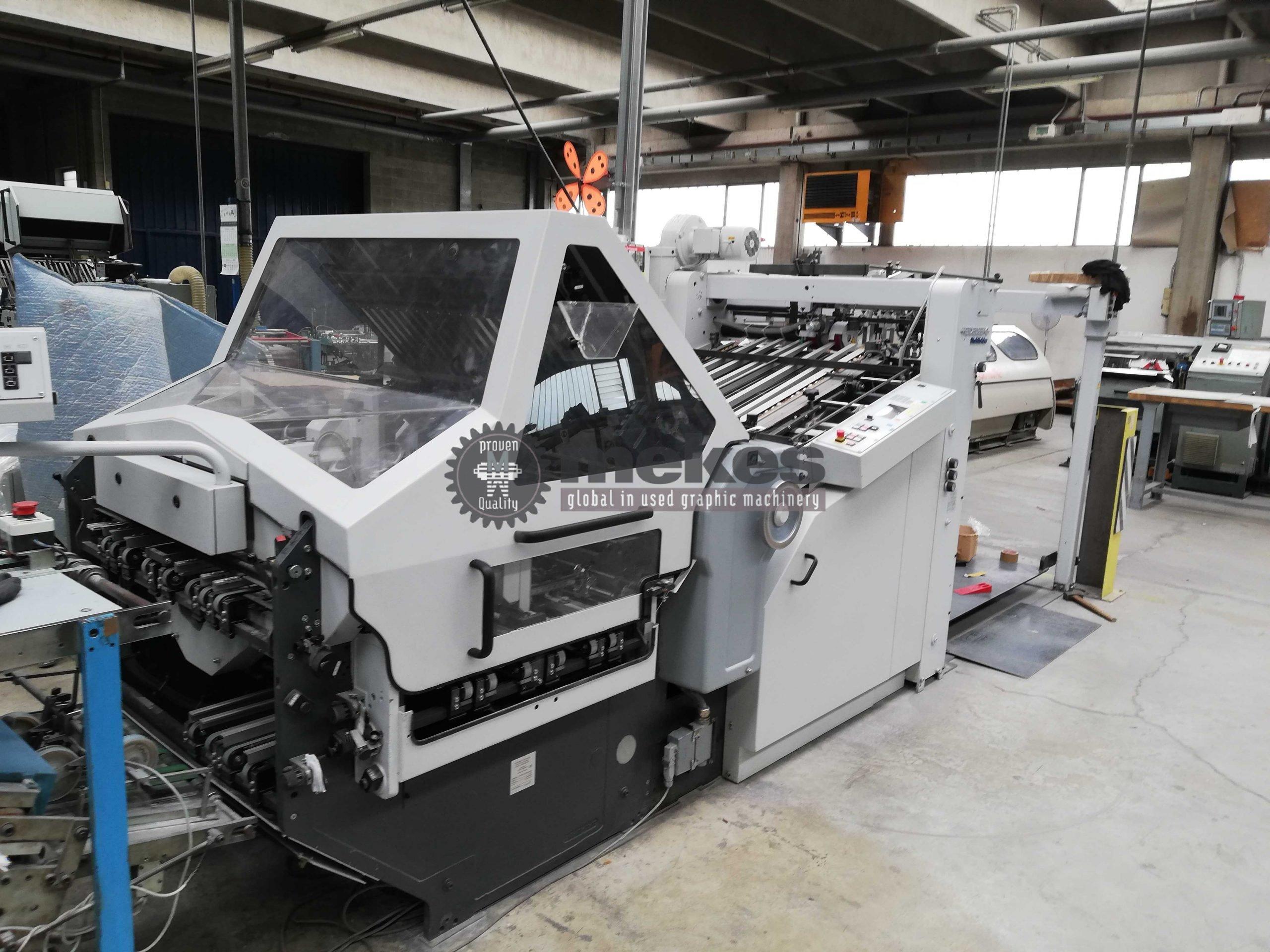 16849 Heidelberg KD944KTL used combination folding machine-1