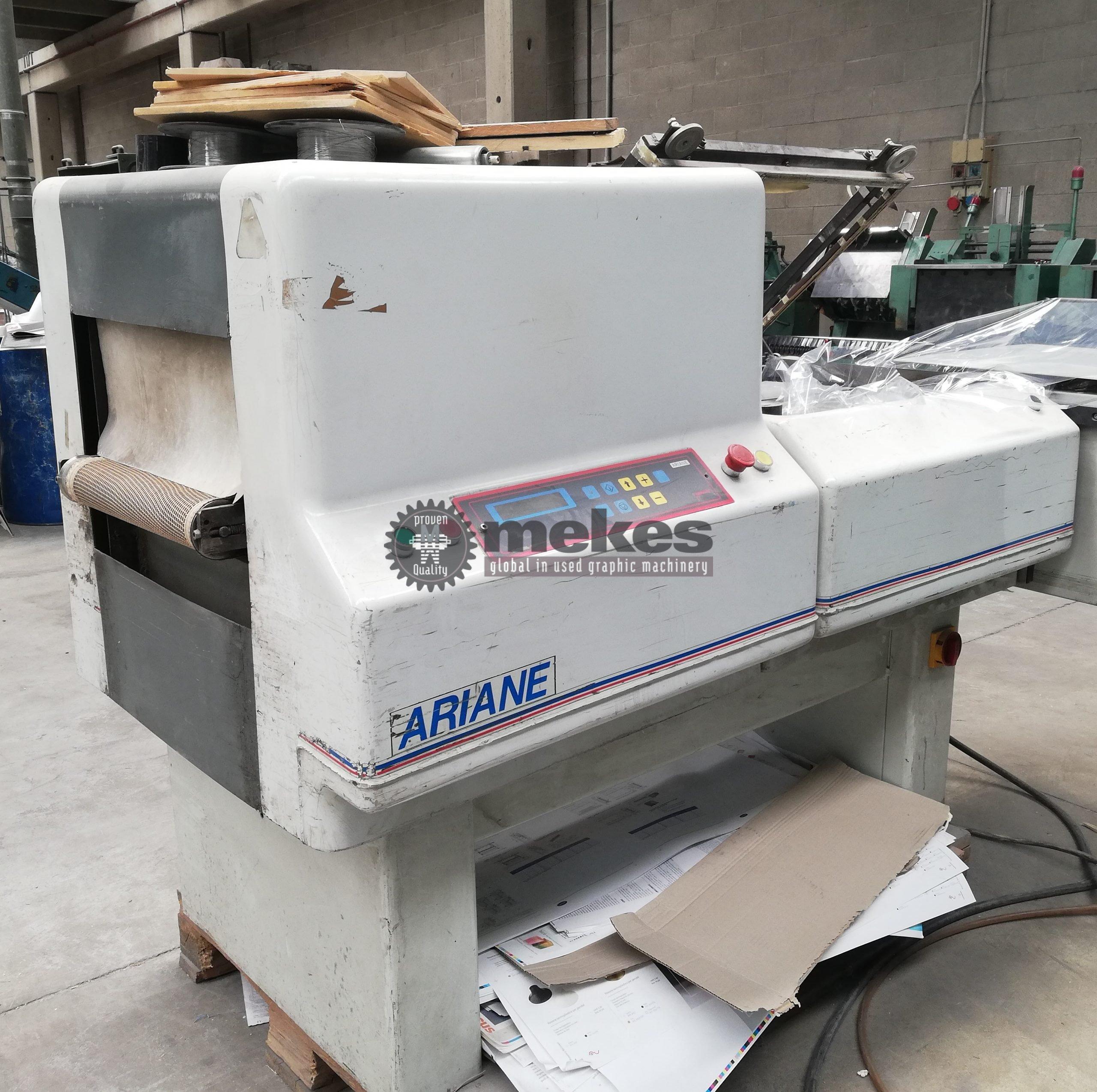 16865 Robopac Ariane 6545 used shrink wrapping machine