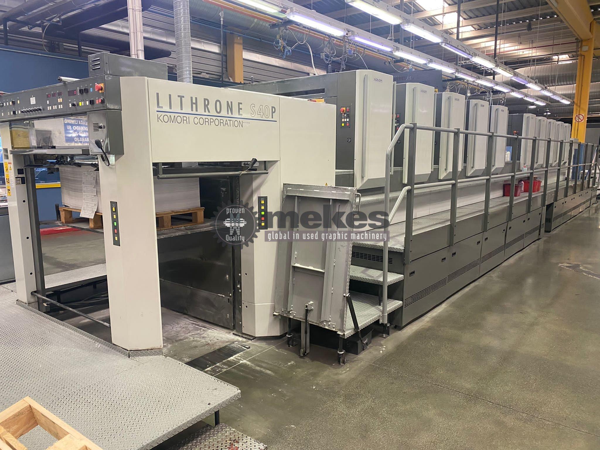 16884 used printing press Komori LS 1040 P (5)