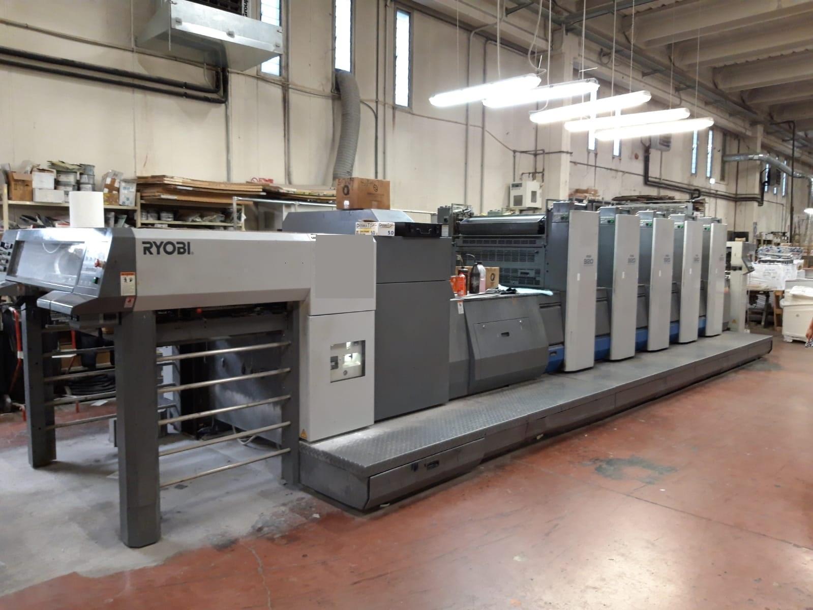 MEK16823 used printing press Ryobi 925 (4)