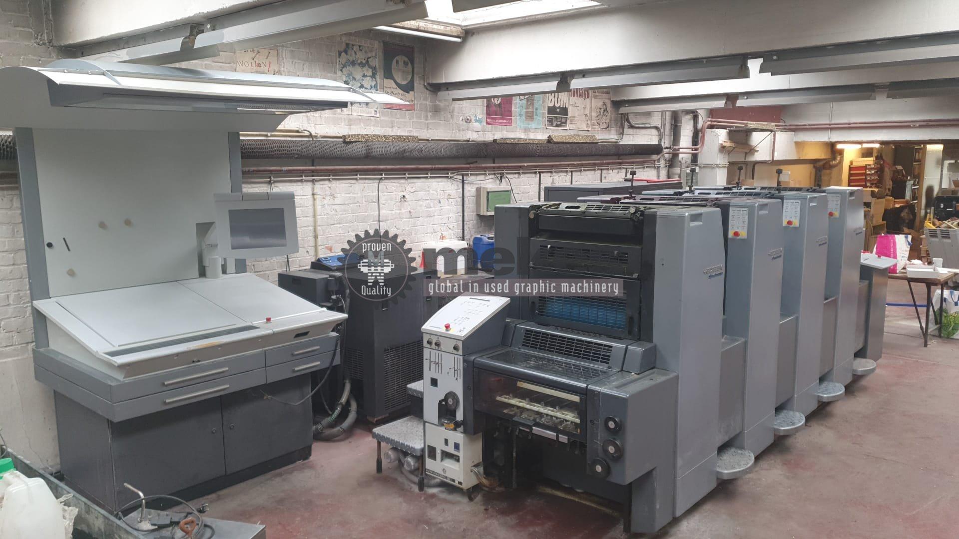 MEK16964 used offset printing press Heidelberg SM 52-4 (1)