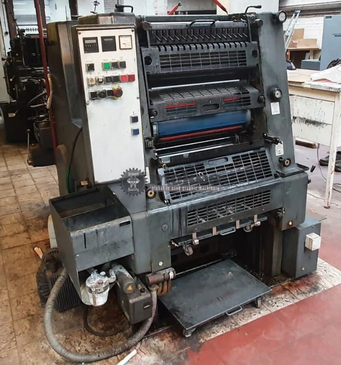 MEK16970 used printing press Heidelberg GTOZ+NP (1)